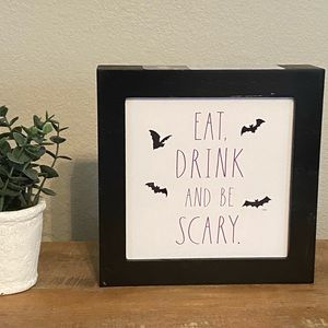 Rae Dunn EAT DRINK AND BE SCARY